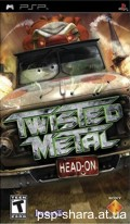 скачать Twisted Metal: Head On PSP RUS