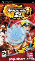 скачать Naruto Ultimate Ninja Heroes 2 The Phantom Fortress PSP ENG