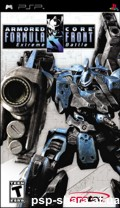 скачать Armored Core - Formula Front Extreme Battle PSP ENG