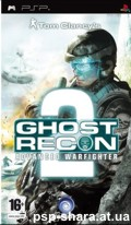 скачать Tom Clancy's Ghost Recon Advanced Warfighter 2 PSP ENG