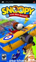 скачать Snoopy Vs The Red Baron PSP RUS