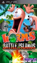 скачать Worms: Battle Islands PSP ENG