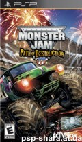 скачать Monster Jam: Path of Destruction PSP ENG